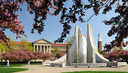 Purdue engineering fountain